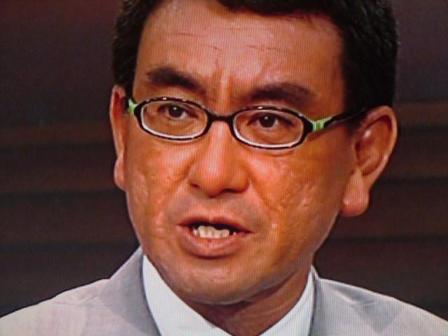 河野洋平 18日、民主党の組閣も済み、副大臣人事に注目している時に、自民党総裁選が... がんば