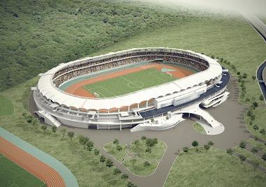新陸上競技場建設工事