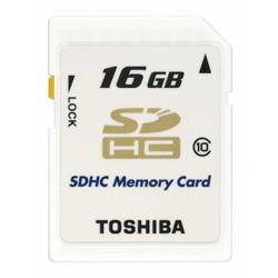 TOSHIBA SDHCメモリカード Class10 16GB