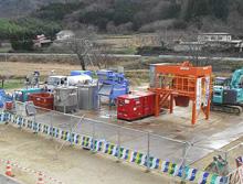 放射能汚染土除染システム