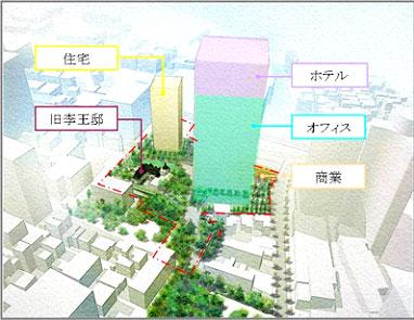 赤坂プリンスホテル跡地 複合施設ビルと賃貸マンション開発へ