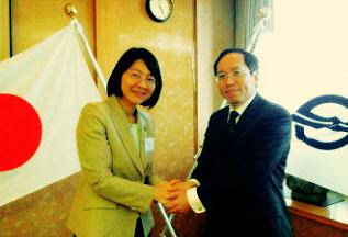 高橋浩二と倉敷市長