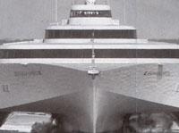 アルミ3胴船