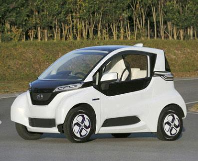 ホンダ/超小型EV「マイクロコミュータープロトタイプ」公開 超小型モビリティー