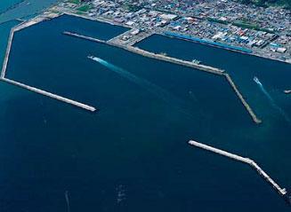 石巻漁港桟橋