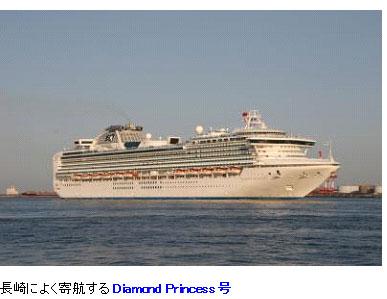 Diamond Princess号