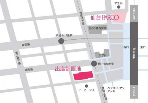 パルコ 地図