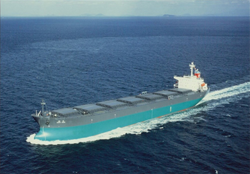 神戸製鋼と旭海運