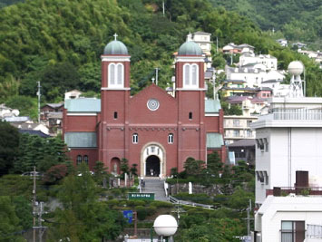長崎のキリスト教会