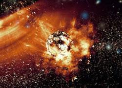 赤外線望遠鏡で捉えた巨大小惑星