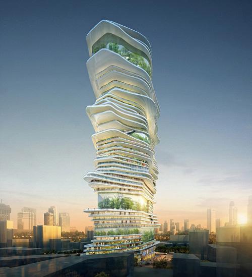 ロンドン数千人居住の「垂直都市」構想