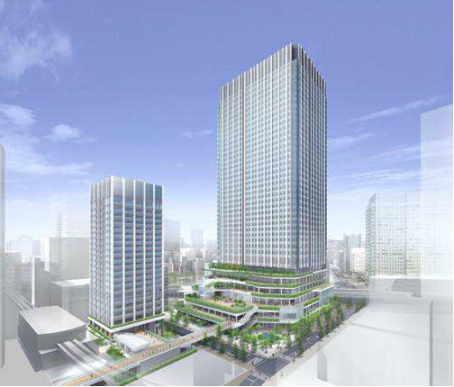浜松町産業貿易ビル建て換え