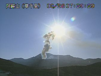 本日朝の火山カメラ