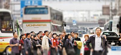 中国観光客