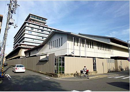 解体を待つ京都国際ホテル