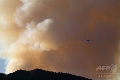 米加州エンジェル森林公園などの火災