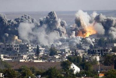 米主導有志連合国によるシリア空爆
