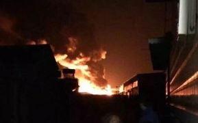 天津爆発火災