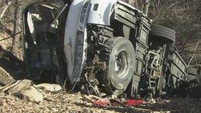 41人乗りスキーバス転落事故