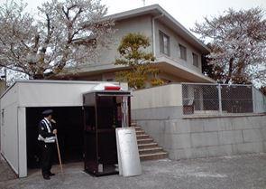 安倍首相・山口県下関市の私邸