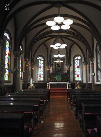 ↓ マリア園内にある聖堂