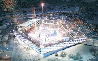 18平昌冬季五輪の開会式会場イメージ