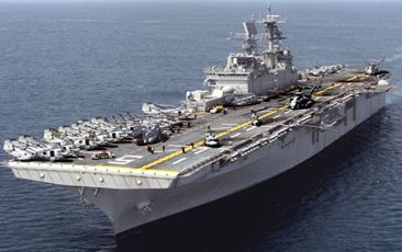 超大型強襲揚陸艦ワスプ