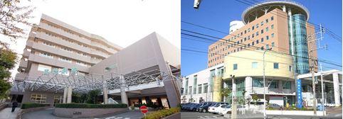 <東芝病院と和白病院>