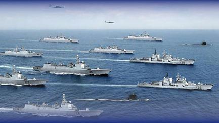中国海軍艦隊