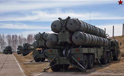 ロシア軍のS400迎撃ミサイル