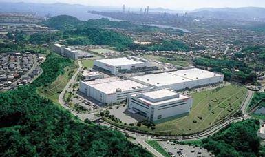 シャープ福山の半導体工場