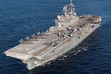 大型強襲揚陸艦「アメリカ」