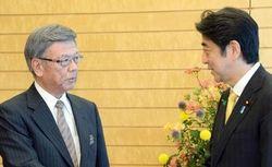 安倍総理と翁長知事のサムネイル画像